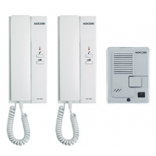 Kocom 1 to 2 Intercom System KDP-602AD